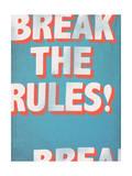Break the Rules! Affischer av  Junk Food