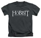 Juvenile: The Hobbit: The Battle of the Five Armies - Ornate Logo T-shirts
