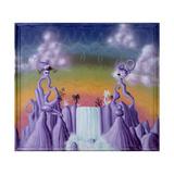 Agua Pollination Gicléetryck av Kenny Scharf