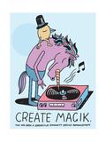 Jeremyville: Create Magik Affiches par  Jeremyville