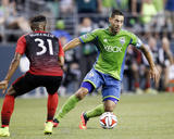 Jul 13, 2014 - MLS: Portland Timbers vs Seattle Sounders - Clint Dempsey Photo af Joe Nicholson