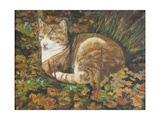 Autumn Leaves, 2002 Giclee Print by Margaret Hartnett