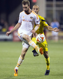 Aug 23, 2014 - MLS: Houston Dynamo vs Columbus Crew - Brian Ownby, Federico Higuain Photo by Greg Bartram