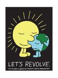 Jeremyville: Lets Revolve Affiches par  Jeremyville