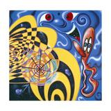 OP BOP Gicléetryck av Kenny Scharf