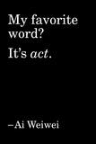 Quote 1 Foto von Ai Weiwei