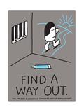 Jeremyville: Find A Way Out Affiches par  Jeremyville