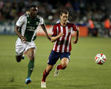 Aug 9, 2014 - MLS: Chivas USA vs Portland Timbers - Frederic Piquionne, Tony Lochhead Photo by Jaime Valdez