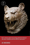 Zodiac Heads: Quote Tiger Posters by Ai Weiwei