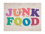 Fun Scribbles Poster by  Junk Food