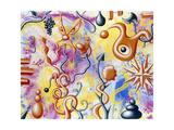 Zouza 95 Giclee Print by Kenny Scharf