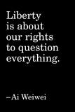 Quote 4 Foto von Ai Weiwei