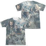 The Hobbit: The Battle of the Five Armies - Epic Poster (Front/Back Print) T-Shirt