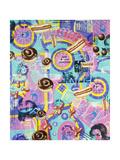 Amerikana Giclée-Druck von Kenny Scharf