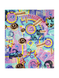 Americana 12 Giclee Print by Kenny Scharf