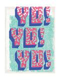 Yo! Yo! Yo! Affiche par  Junk Food