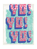 Yo! Yo! Yo! Print by  Junk Food