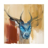 Mask (Young Stag), 2014 Giclee Print by Mark Adlington