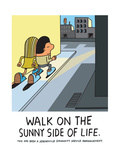 Jeremyville: Walk On The Sunny Side of Life Art by  Jeremyville