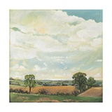Downland Sky, 2001 Giclee Print by Margaret Hartnett