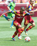 Aug 16, 2014 - MLS: Seattle Sounders vs Real Salt Lake - Joao Plata Photo by Russell Isabella