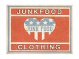 Label Design Print by  Junk Food