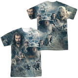 The Hobbit: The Battle of the Five Armies - Epic Poster (Front/Back Print) T-shirts