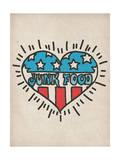 American Heart Affiche par  Junk Food