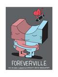 Jeremyville: Foreverville Prints by  Jeremyville