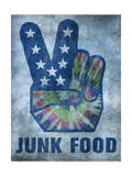 Tie-Dye Peace Design Poster by  Junk Food