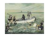 L'Heure Du Bain, 2007 Giclee Print by Margaret Hartnett