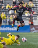 Apr 5, 2014 - MLS: Toronto FC vs Columbus Crew - Dwayne De Rosario Photo by Trevor Ruszkowski