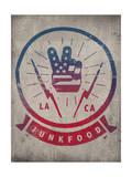 Junk Food - Broadcast Design Affiches par  Junk Food