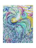 Onda 12 Giclee Print by Kenny Scharf