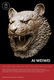 Zodiac Heads: Tiger Prints by Ai Weiwei