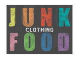 Clothing - Color Stamp Art by  Junk Food