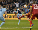 Apr 5, 2014 - MLS: Real Salt Lake vs Sporting KC - Graham Zusi Photo by Peter Aiken