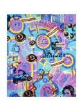 The All New And Improved Fun Giclée-tryk af Kenny Scharf