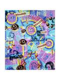 Theallnewimprovedfun 08 Giclee Print by Kenny Scharf