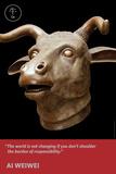 Zodiac Heads: Quote Ox Photo autor Ai Weiwei