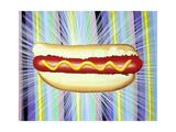 The All New Hot Dog Giclée-Druck von Kenny Scharf