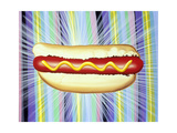 The All New Hotdog! 08 Giclee Print by Kenny Scharf