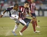 Jun 28, 2014 - MLS: Real Salt Lake vs Chivas USA - Eric Avila, Joao Plata Photo by Kelvin Kuo