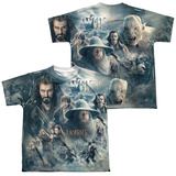 Youth: The Hobbit: The Battle of the Five Armies - Epic Poster (Front/Back Print) T-shirts