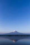 Mt. Fuji Reflected in Lake, Kawaguchiko, Photographic Print by  ULTRA.F