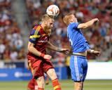 Jul 24, 2014 - MLS: Montreal Impact vs Real Salt Lake - Calum Mallace, Nat Borchers Photo by Chris Nicoll