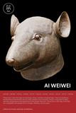 Zodiac Heads: Rat Poster by Ai Weiwei