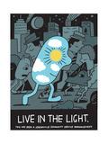 Jeremyville: Live In The Light Reprodukcje autor Jeremyville