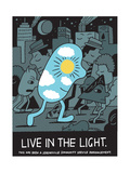 Jeremyville: Live In The Light Prints by  Jeremyville