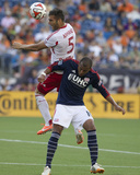 Jun 8, 2014 - MLS: New York Red Bulls vs New England Revolution - Teal Bunbury, Armando Photo by David Butler II